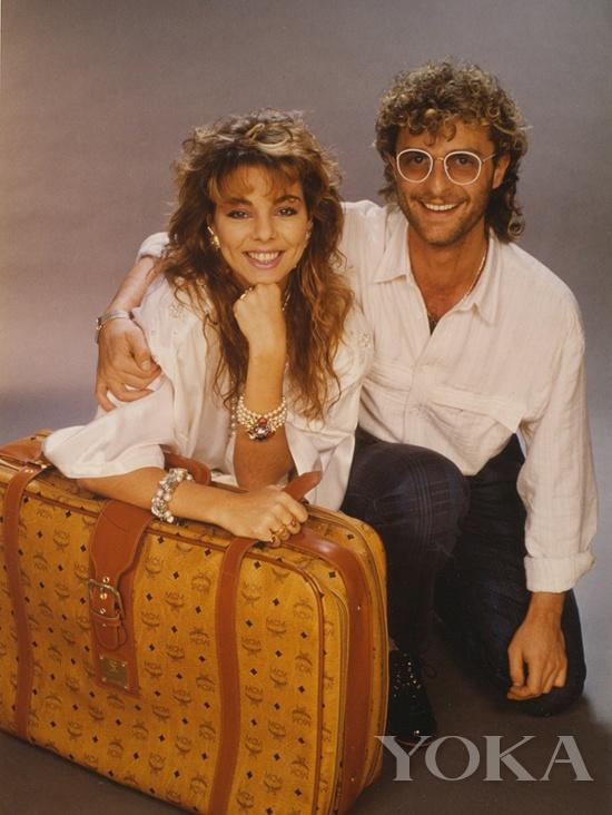 Sandra最爱的MCM旅行箱